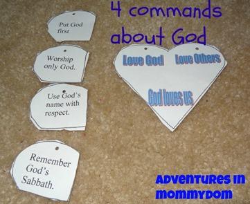 analyizing the 10 commandments