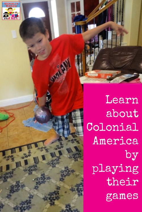 colonial america unit games