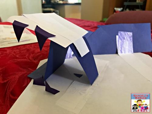 design a paper cave