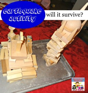 Earthquake activity, STEM for kids