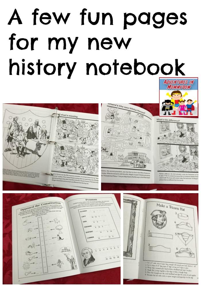 easy history notebook