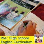 high school english curriculum for homeschoolers