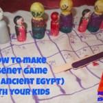How to make a Senet board game