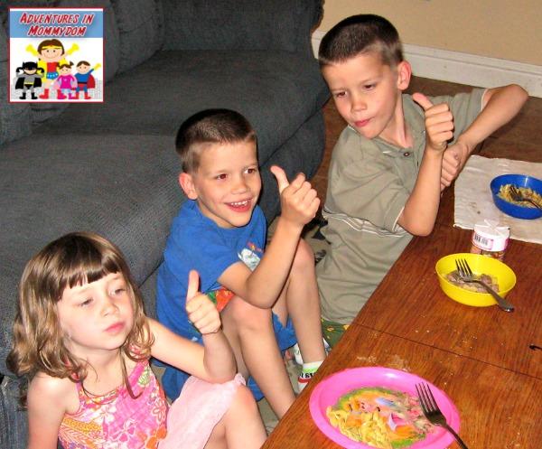 kids reaction to beef stroganoff