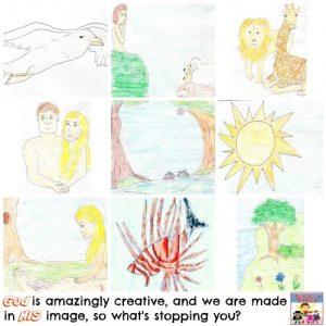 Creation story activities