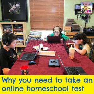 online homeschool testing for the anti testing mom