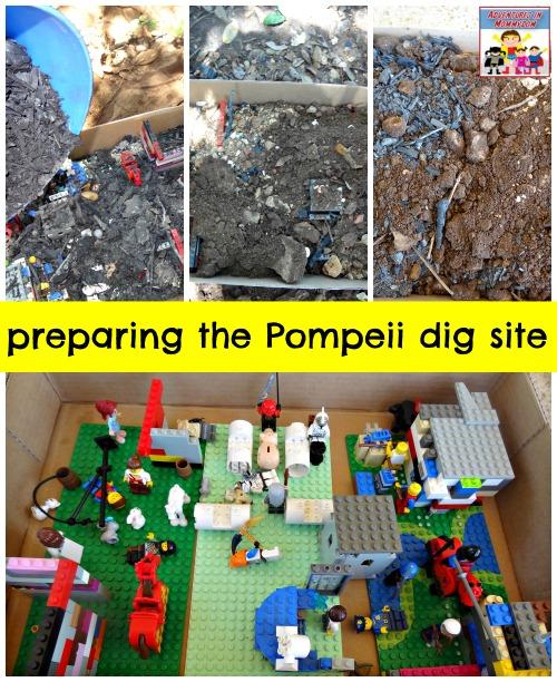 Pompeii lesson