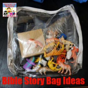 simple Bible story bag ideas