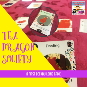 tea dragon society deckbuilding card game