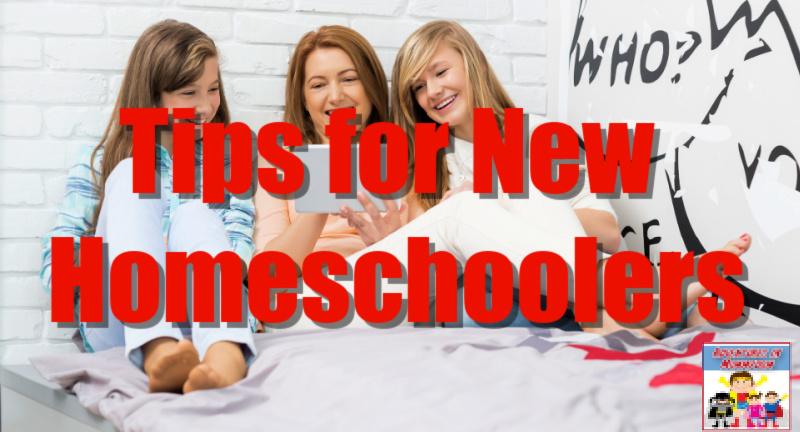 tips for new homeschoolers
